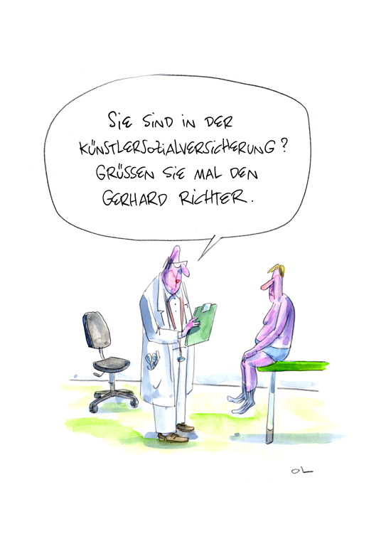 In der KSK mit Gerhard Richter