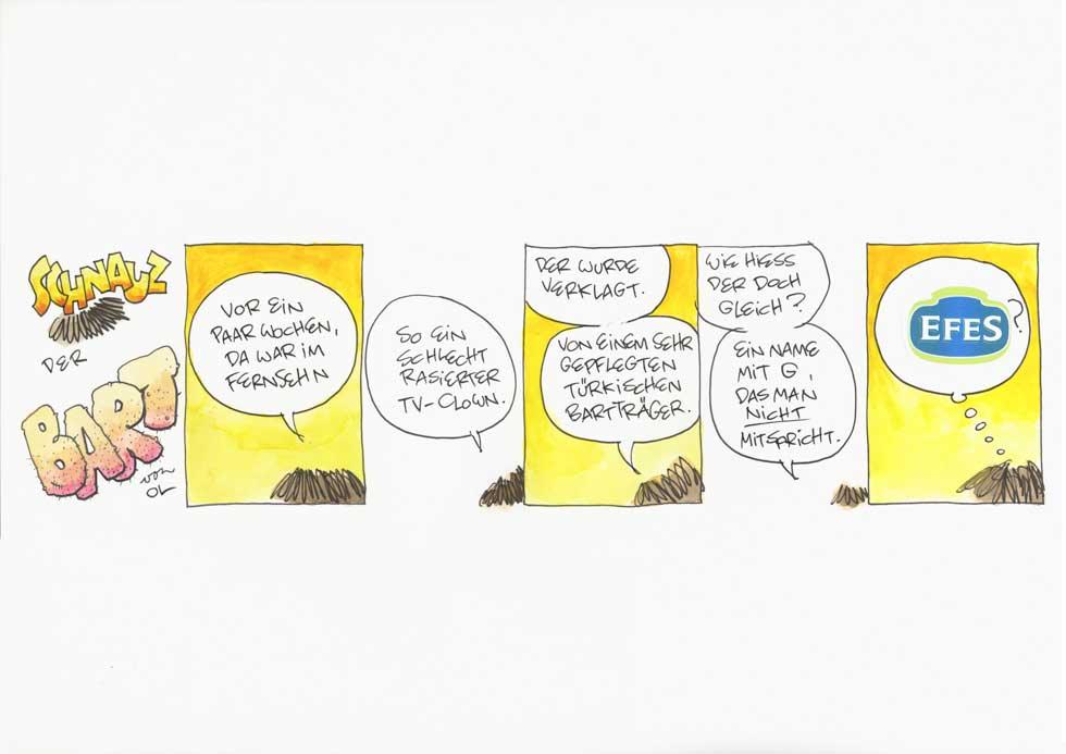 Schnauz der Bart - Efes