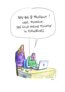 SPD 8 Prozent