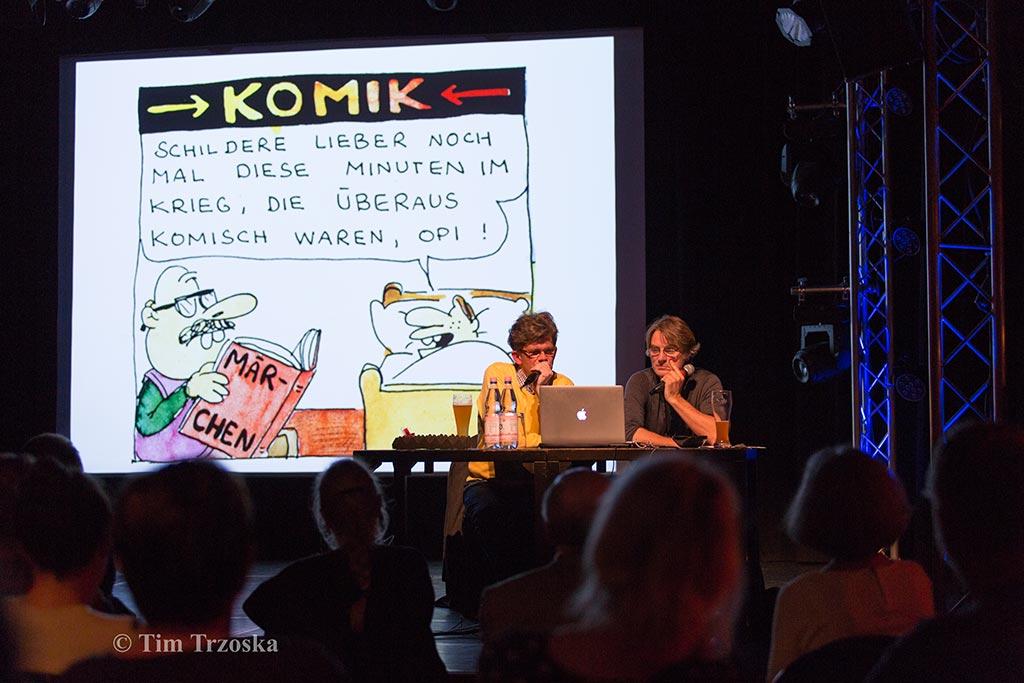 OL & Rattelschneck Show, WABE, Berlin, 2019