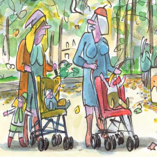 Die Mütter vom Kollwitzplatz - 3 Kinder