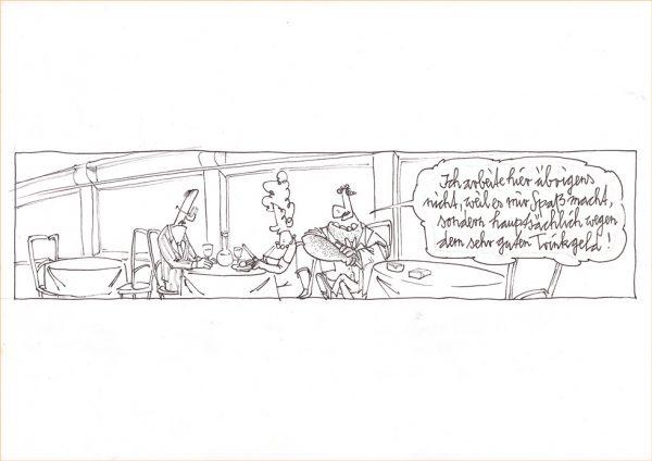 Trinkgeld (Skizze)