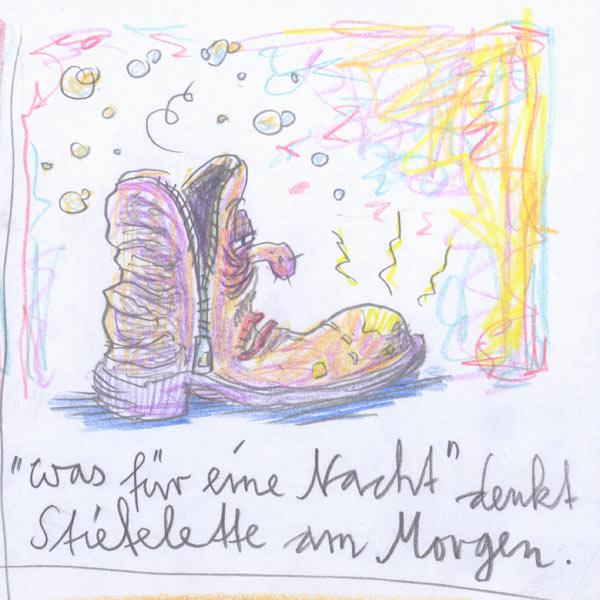 Die Lustigen Schuhe - Stiefelette